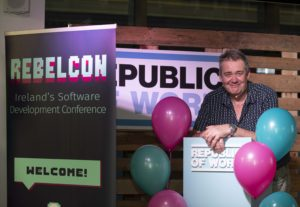 Dave Farley at RebelCon 2020 Launch event